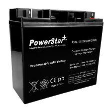 PowerStar Replaces, Solar Booster Pack ES1230 Jump Starter 12V 18Ah Battery