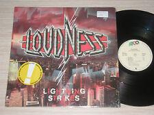 LOUDNESS - LIGHTNING STRIKES - LP 33 GIRI SPAIN