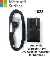 New Genuine Original Microsoft Surface 3 AC Adapter Charger 13W 5.2V 2.5A 1623