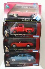 LOT OF 4x Die-Cast Collector Cars YAT MING F-100 Thunderbird Tucker SOLIDO Caddy