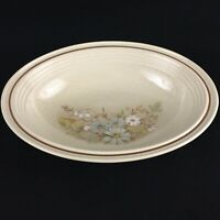 "VTG Oval Vegetable Serving Bowl 10 1/4"" Royal Doulton Florinda Floral England"
