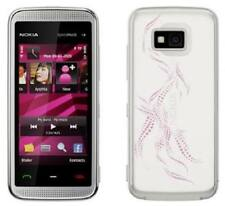 Nokia XpressMusic 5530 - White With Pink Accents (Unlocked) Smartphone