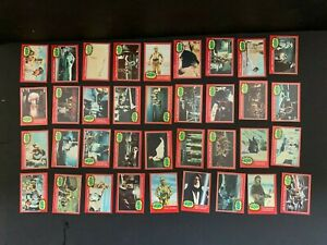 1977 Topps Star Wars 2nd Series Complete 66 Red Trading Card Set EX+