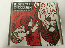 THE WHITE STRIPES The Denial Twist LIVE AT ALEXANDRA PALACE MINT RARE CD COMPLET