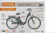 """E-Bike Prophete Alu-City-Elektrofahrrad 26"""" ECC 300"""