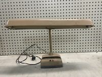 Vintage MARKS Deluxe MCM Gooseneck Metal Desk Lamp Industrial Drafting Light