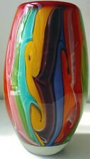Coloured Glass Vase -Confectionery - Multicoloured