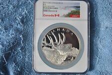 2017, 1/2 Kilo, Canada, $125, Elk, NGC, Early Releases, PF69 UC