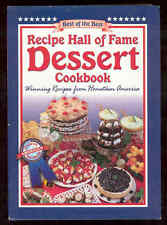 Recipe Hall Of Fame Dessert Cookbook Chocolate Pudding Cake Pies Tortes Brownies