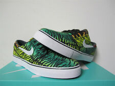 Nike SB Stefan Janoski Canvas Tiger Stripe Red Green Yellow Sz 11.5 615957-613