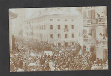 WWI- View of a Parade/ March of Austria- Hungarian Soldiers