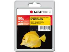 Agfa Photo 50% más NEGRO NO ORIGINAL T1281 para epsonsx-125 -420w -425w
