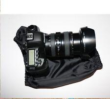 Impermeable Cubierta de la lluvia se adapta a Canon Nikon 24-70 f2.8 24-105 f4 L 17-55 f2.8 Negro