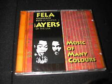 FELA KUTI ROY AYERS MUSIC OF MANY COLOURS CD SEALED COLORS ORIG SS RARE