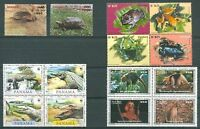 PANAMA - FAUNA 4 Different Sets MNH VF