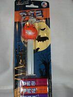 PEZ Dispenser Halloween Glow in Dark Pumpkin Jack-O-Lantern Collectible Orange