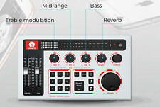 SabineCast Bluetooth Mixer with Built in Audio Interface and Microphone Bundle
