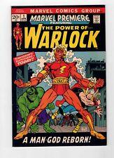 MARVEL PREMIERE #1 - 1ST APPEARANCE HIM AS ADAM WARLOCK - VF