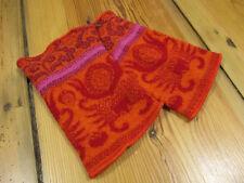 Wollstulpen, Pulswärmer,  Orange - Pink -Rot