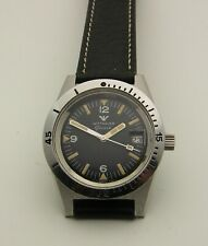Near Mint Vintage 1960's Stainless Wittnauer 4000 Divers Watch 38mm