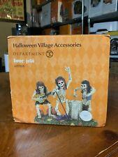 Department 56 Dept 56 Halloween Village Bone Jovi 4057618 Bnib