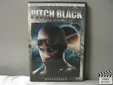 Pitch Black (Dvd, 2004, Unrated, Director's Cut, Widescreen Edition)