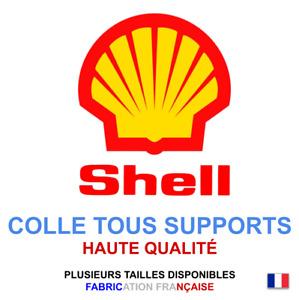 Stickers autocollant SHELL logo plusieurs tailles, super prix