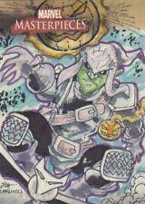 Marvel Masterpieces Color Sketch Card by Pat Carlucci of Green Goblin