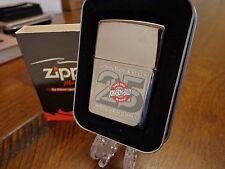 JOHN BOY & BILLY SHOW 25TH ANNIVERSARY ZIPPO LIGHTER MINT IN BOX 2005 BLACK ICE