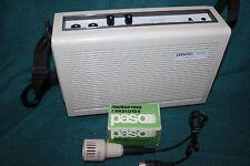 Speaker Portatile Vintage PASO TA102 e microfono modello M60 con scatola vintage