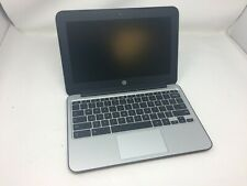 Used HP Chromebook 11 G3 2.16GHz CPU, 16GB SSD, 2GB RAM, Bad Headphone Jack