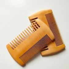 1Pc Women Men Pocket Beard Hair Combs Handmade Natural Wood Comb Fine Wide Tooth