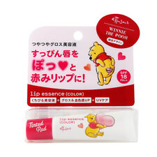 [ETTUSAIS DISNEY] WINNIE THE POOH Lip Essence Hydrating Tinted Red Lip Balm Tube