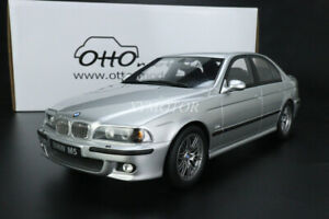 OTTO 1/18 BMW M5 E39 5 Series Limited Resin Diecast Car Model Silver toys gifts
