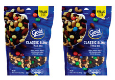 2 x Gold Emblem Classic Blend Trail Mix Resealable Bag New Sealed Value Size