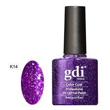 GDI Nails Diamond Glitters K14 Purple Majestica UV LED Soak off GEL Nail Polish