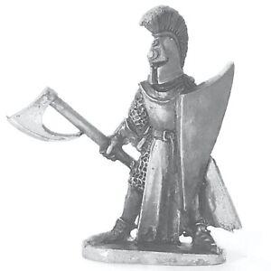 High Elf Hero with Axe 28mm Unpainted Metal Wargames