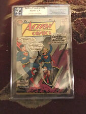 1st app. SUPERGIRL Action Comics 252 1959 PGX 2.5 Cgc