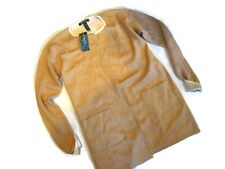Lauren RALPH LAUREN Womens SHAWL Cardigan SWEATER  Cream tan XS X SMALL