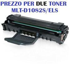 CARTUCCIA PER SAMSUNG ML-2240 ML-2241 ML-1640 SET DA 2 TONER MLT-D1082S/ELS