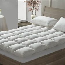Luxury Duck Feather Down Mattress Topper Mattress Cover Available In All Sizes