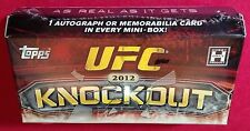 2012 Topps UFC Knockout Factory Sealed Hobby Mini-Box (Pack) ONE Auto or Relic