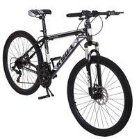 """26"""" Folding Mountain/Road Bike Shimano 21 Speed Full Suspension Bicycle BMX Bike"""