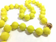 Kate Spade Cut To The Chase Necklace Perfection! NWT Bright Yellow Classic!
