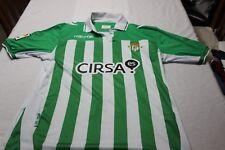 "Camiseta Futbol OFICIAL REAL BETIS 2012-13 MACRON Talla ""L"" 10 BEÑAT CIRSA"