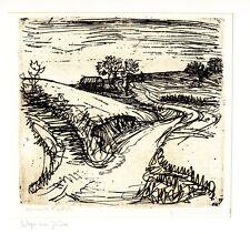 Originaldrucke (1950-1999) aus Europa mit Landschaft und Radierung