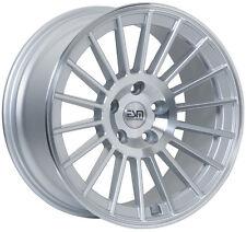"ESM-008 5x100 18X9.5 et 38 Wheel Rims 18"" VW Jetta GTI Golf"