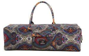 Eco-Friendly Paisley Print Yoga Mat Bag