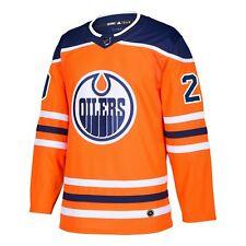 Edmonton Oilers adidas Leon Draisaitl Authentic Pro Jersey Orange M