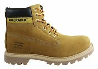 Mens Bradok Eldorado Comfortable Lace Up Leather Boots Made In Brazil - ModeShoe